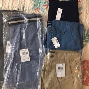 Boys NWT Shorts/Pants 5 Item Bundle Size 12